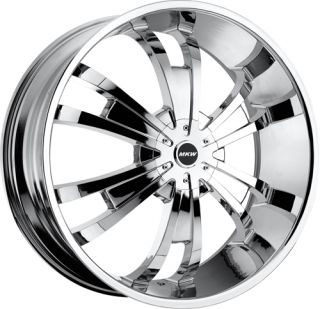 MKW 28 Chrome Wheels Chevy Impala Caprice Delta 88 Cadillac Donks