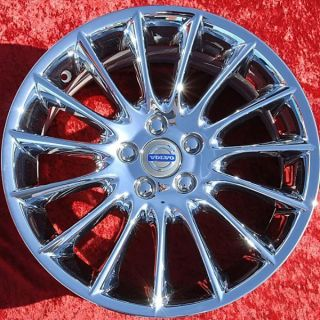 OF 4 NEW VOLVO S80 BALIUS OEM 18 CHROME WHEELS RIMS S60 70356 EXCHANGE