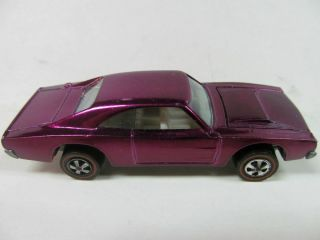 Hot Wheels Redline Custom Dodge Charger Magenta Loose