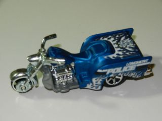 Hot Wheels Boss Hoss Cycles Motorcycle Longmont Police Loose