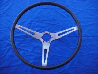 1963 C2 Corvette Onyx Black Steering Wheel