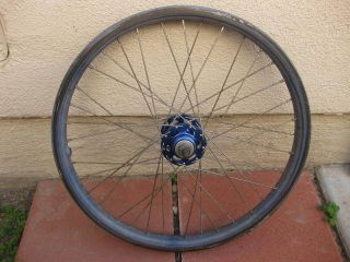 80s ACS Z Rims Suzue Rear Hub Old School BMX 20 Rear Wheel Blue