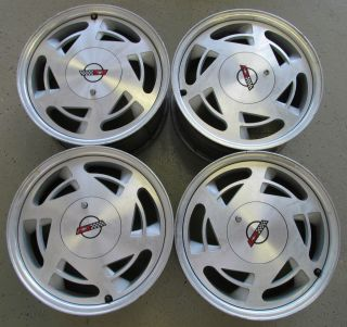 OF 4 1989 CHEVROLET CORVETTE WHEELS FACTORY CORVETTE WHEELS 17 X 9 1 2