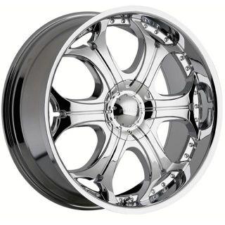 24 Chrome Rims Tires 5x139 135 Dodge RAM 1500 Durango Ford F150