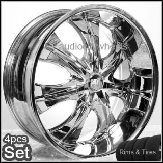 22 inch Wheels and Tires for Land Range Rover FX35 Rims