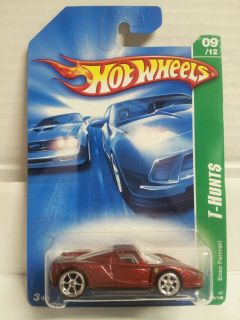 Hot Wheels 2007 Super Treasure Hunt THUNT Enzo Ferrari ERROR FERRRARI