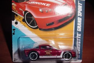 2012 Hot Wheels 2011 Corvette Grand Sport Roanoke Fire Dept