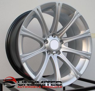 18 M5 Style Silver Wheels Rims Fit BMW E85 E89 Z4 All Years M3 2000