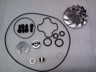 94 E99 Powerstroke Turbo Rebuild, Billet Compressor Wheel GTP38 Ford 7