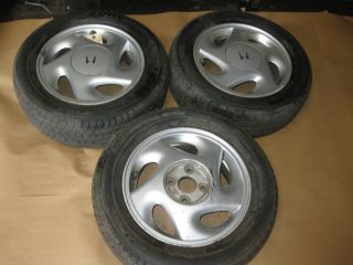 88 89 90 91 Honda CRX Wheels Rims with Tires Stock Factory SI Blades