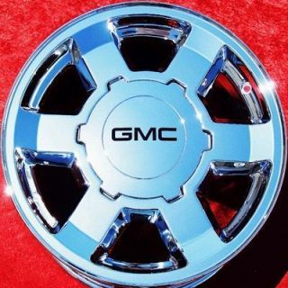 OF 4 NEW 17 GMC SIERRA 1500 YUKON SUBURBAN OEM CHROME WHEELS RIMS 5193