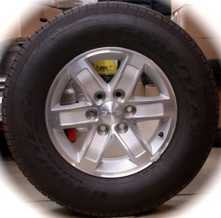 NEW GMC Sierra Yukon OEM 17 Wheels Rims Tires Chevy Silverado Tahoe