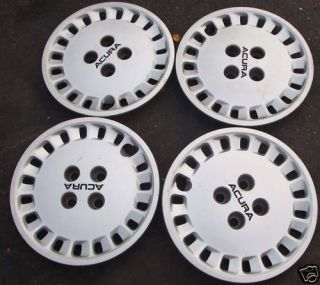 14 1988 89 Acura Integra Hubcaps Wheel Covers