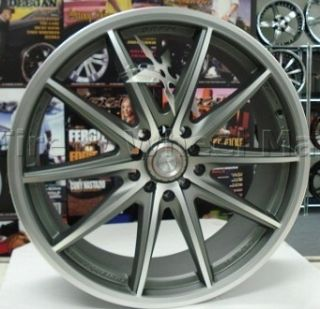 17 NJ05 WHEELS RIMS TIRES 4X100 + 4X114.3 ACCORD CIVIC CRX INTEGRA