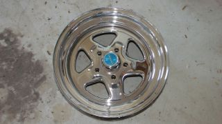 Weld Crager Racing Wheel Prostar Aluminum Polished Rim 15 x 7