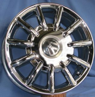 16 VW Beetle Chrome OE Wheels 4 Rims