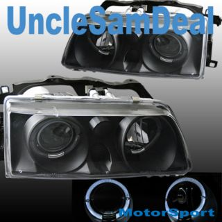 90 91 HONDA CIVIC CRX DUAL HALO RIMS CLEAR PROJECTOR HEADLIGHTS JDM
