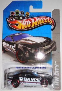 2013 Hot Wheels Treasure Hunt 10 Camaro SS Police Hidden HW City Car