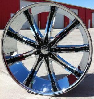 20 Dcenti 29 Wheels Rims Tires 5x127 Impala SS 92 96 Tahoe Silverado