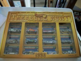 Hot Wheels JC Penny Treasure Hunt Set 1998