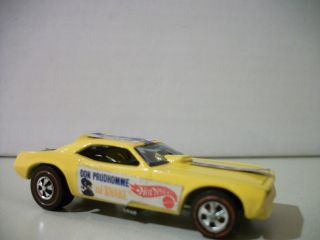 Hot Wheels Vintage Redline 1969 70 Snake Plymouth Barracuda Don