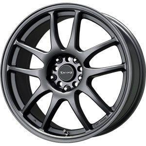 New 17x7 4x100 4x114 3 Drag Dr 31 Gray Wheels Rims