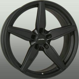 20x10 Ace Couture 5x120 ET35 Matte Black Wheels 4 New Rims