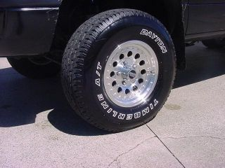 16 x 8 American Racing Outlaw 2 High Offset 88 04 Chevy GMC Silverado