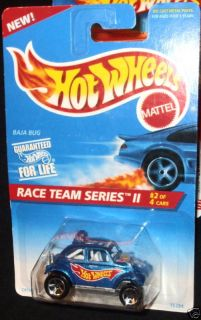 Hot Wheels 96 393 Blue Baja Bug Race Teams Series II 2 of 4