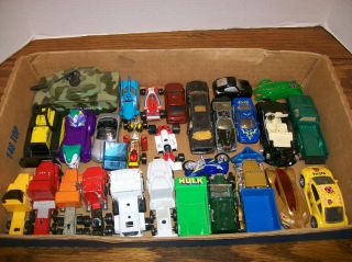 Diecast Cars Trucks Bikes etc Hot Wheels Yatming Majorette Etc