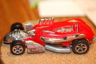 97 Hot Wheels Salt Flat Racer Red 1st Edition Loose