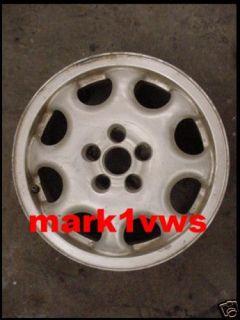 VW Volkswagen Jetta Wheel Rim 5 Lug Passat VR6 93 97