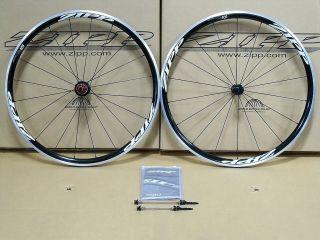 2012 Zipp 101 Alloy Clincher Wheelset Cycling 700c Wheels Black