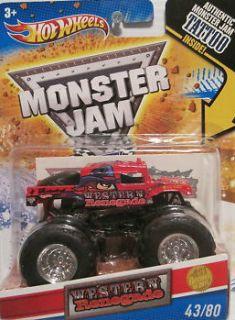 Hot Wheels Monster Jam Truck Western Renegade Hummer Tattoo First
