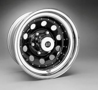 Wheel 94 Series Black Seel Modular Wheel 16x7 6x5 5