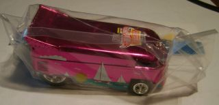 Hot Wheels 2012 26th Convention BINGO Charity Winner PINK VW DRAG Bus