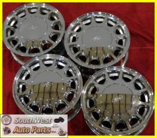 96 97 Ford Taurus Mercury Sable 15 12 Spoke Chrome Wheels Used Rims