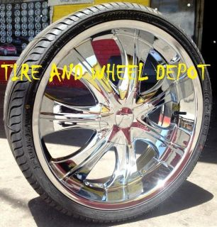 22 inch 750 Rims and Tires Infinity Accord Impala Maxima Altima Crown