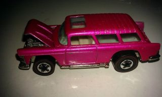 Vintage Hot Wheels Redline Series 1969 Pink Original Chevy Classic