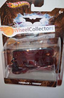 TUMBLER BLACK * BATMAN THE DARK KNIGHT BATMOBILE 1/50 Scale Hot Wheels