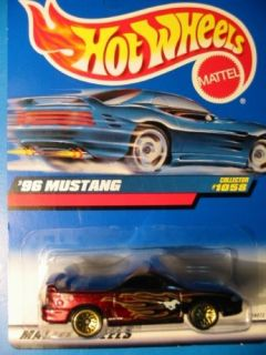 1999 96 Mustang Flames Hot Wheels 1058 Combine SHIP