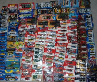 LOT SET 183 DIECAST JOHNNY LIGHTNING HOT WHEELS JADA RACING CHAMPIONS