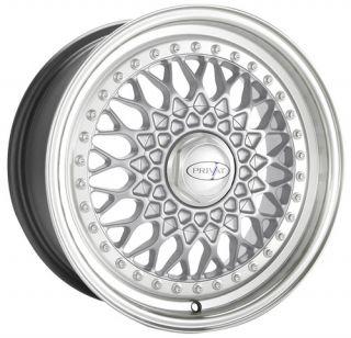 17x9 Privat Remember Wheels 5x114 3 120mm ET35 Rims Silver