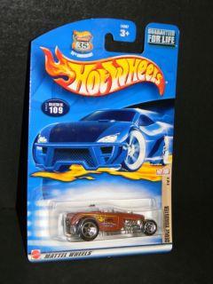 2002 Hot Wheels Hot Rod Deuce Roadster 3 of 4 109 MOC