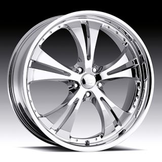 5x110 Chrome Vision Shockwave Wheels Rims 5 Lug Cobalt Malibu Saturn
