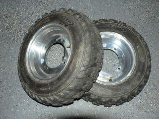 156 Front Yamaha Douglas Wheels Rims ITP MX Tires YFZ450 Banshee