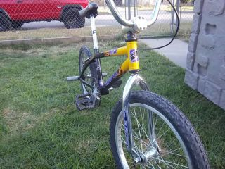 GT Dyno VFR D Force BMX Bike 20 Wheels Size All Original Mid Old