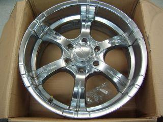 Liquid Metal Motor Sports Magma Chrome 20 Wheel w Caps