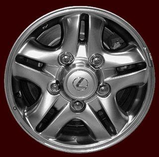 Lexus LX470 98 99 00 01 02 16 Used Wheels Chrome Rims Alloy
