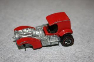 Redline Hot Wheels Red Superfine Turbine Rare Car 1972 Mattel Inc. HTF